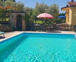 Holiday house in Sant'Arcangelo with pool, in Umbria.