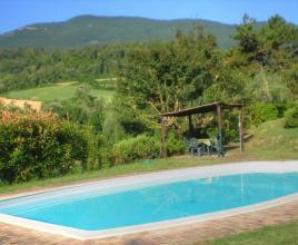 Vakantiehuis in Cetona met zwembad, in Toscane.