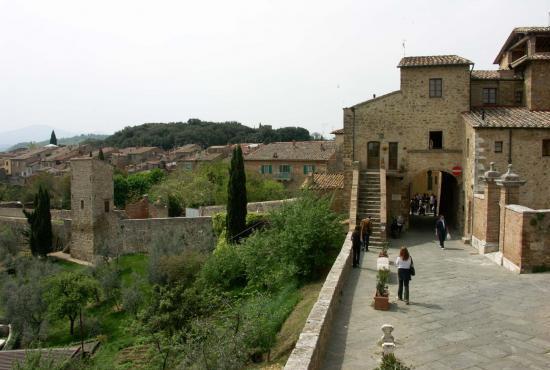 Location de vacances en Contignano, Toscane - San Quirico d'Orcia