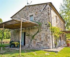 Holiday house in San Casciano dei Bagni with pool, in Tuscany.