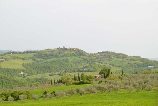 Holiday house in Celle sul Rigo, Tuscany - View on Celle sul Rigo