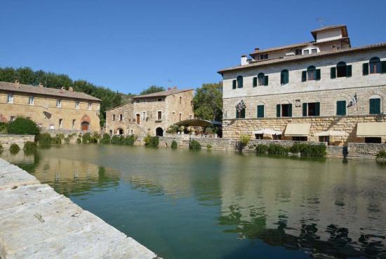 Casa vacanza in Sarteano, Toscana - Bagno Vignoni