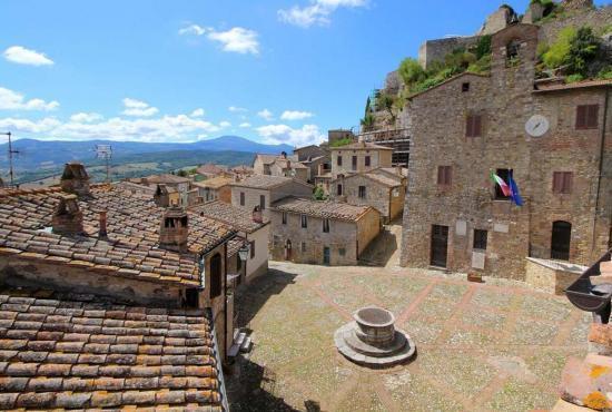 Casa vacanza in Sarteano, Toscana - Castiglione d'Orcia