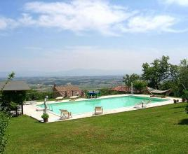 Holiday house in Sinalunga with pool, in Tuscany.