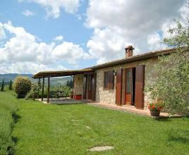 Holiday house in Cetona with pool, in Tuscany.