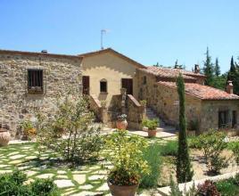 Casa vacanze con piscina in Piazze, in Toscana.