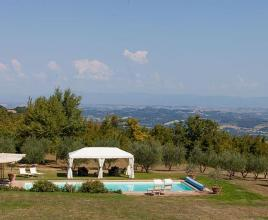 Holiday house with pool in Tuscany in Piazze (Italy)