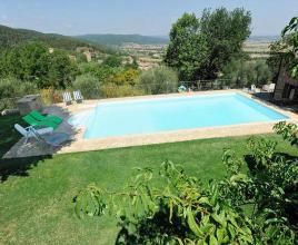 Holiday house in Stigliano with pool, in Tuscany.