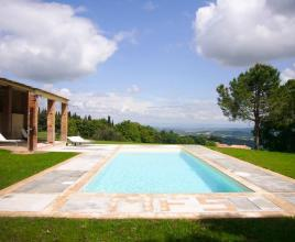 Holiday house in Palazzone with pool, in Tuscany.