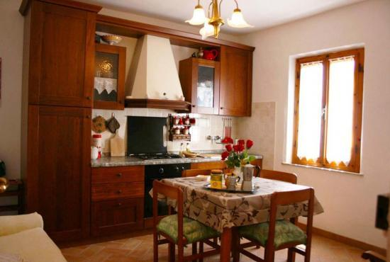 Holiday house in Montepulciano, Tuscany - Kitchen -  first floor