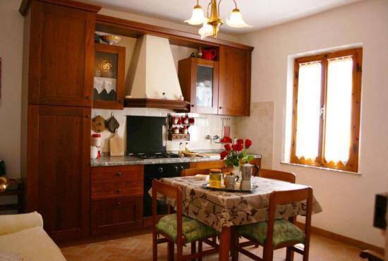 Ferienhaus in  Montepulciano, Toskana - Küche 1.Stock