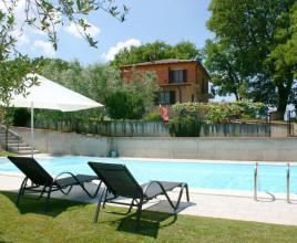Holiday house in Montepulciano with pool, in Tuscany.