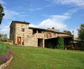 Location de vacances avec piscine à Sinalunga, Toscane.