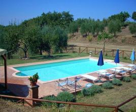 Vakantiehuis in Sinalunga met zwembad, in Toscane.