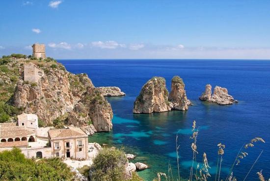Vakantiehuis in Fraginesi, Sicilië - Scopello
