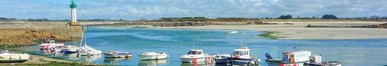 Vakantiehuizen in Finistère aan zee en strand