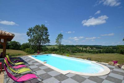 Vakantiehuizen met zwembad Aquitaine
