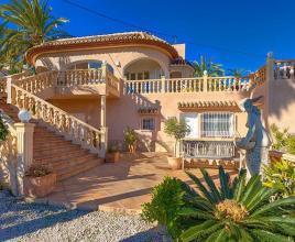 Vakantiehuis in Calpe met zwembad, in Costa Blanca.