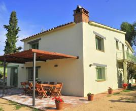 Holiday house in Riudarenes with pool, in Costa Brava.