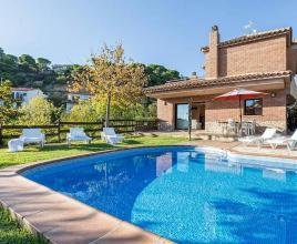 Casa vacanze con piscina in Lloret de Mar, in Costa Brava.
