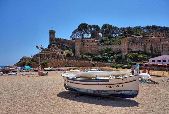 Location de vacances en Lloret de Mar, Costa Brava - Tossa de Mar