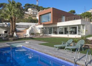 Holiday house in Lloret de Mar with pool, in Costa Brava