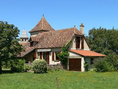 Vakantiehuis in Loubressac, in Dordogne-Limousin.