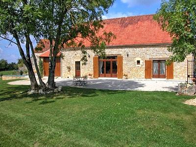 Vakantiehuis met zwembad in Dordogne-Limousin in Rampoux (Frankrijk)