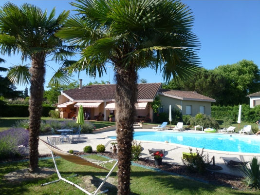 Mooie vrijstaande villa met privé zwembad, rustig gelegen bij het levendige stadje moissac. het goed ...