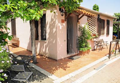 Vakantiehuis in Follonica aan zee, in Toscane.