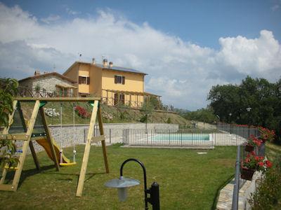 Vakantiehuis in Casacastalda met zwembad, in Umbrië.