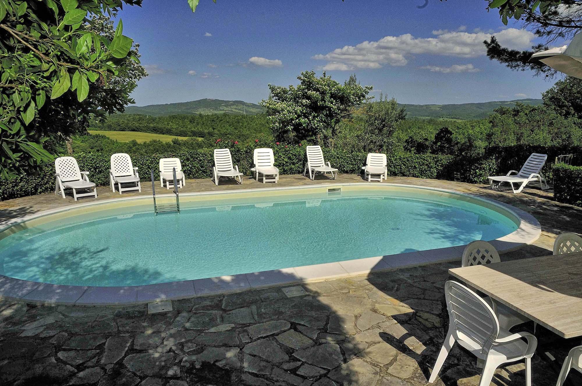 Vakantiehuis in Montegiove met zwembad, in Umbrie.