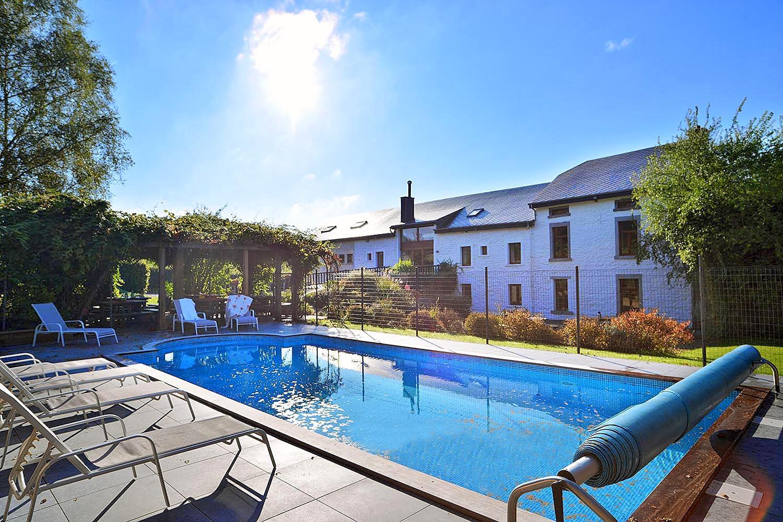 Villa met zwembad in Ardennen in Houffalize (België)