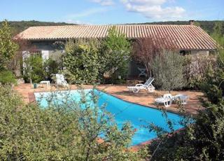 Nice Villa With Pool In Languedoc Roussillon In Le Garn (France)
