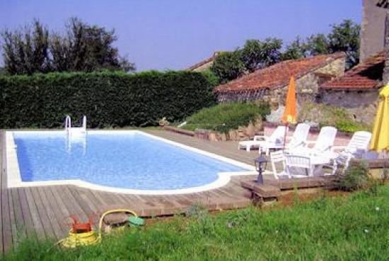 Location De Vacances En Lherm, Dordogne Limousin   Piscine