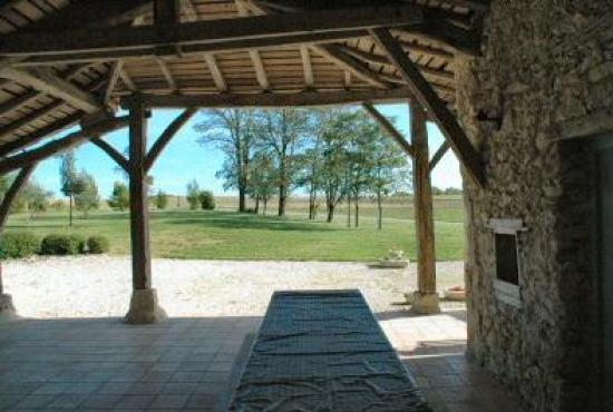Location De Vacances En Fauroux, Dordogne Limousin   Terrasse Couverte