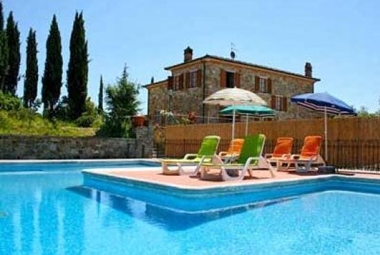 Vakantiehuis met zwembad in toscane in lucignano itali - Zwembad huis ...