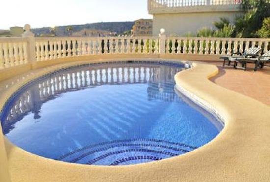 Ferienhaus In Benitachell, Costa Blanca   Schwimmbad Und Aussicht