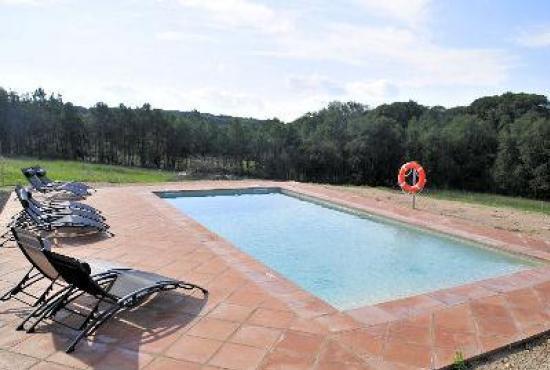 Villa con piscina in costa brava in riudarenes spagna for Piscinas costa brava