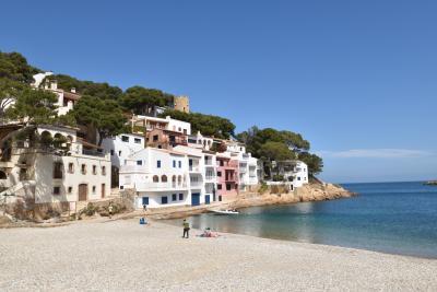 vakantiehuis op het strand spanje