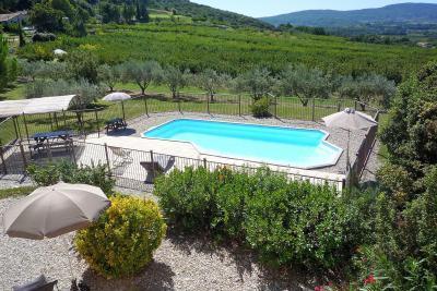 Maisons et villas vaucluse locations de vacances avec for Piscine miroir vaucluse