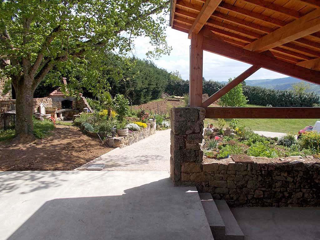 Schöne Überdachte Terren | Ferienhaus In Provence Cote D Azur In Arlebosc Frankreich