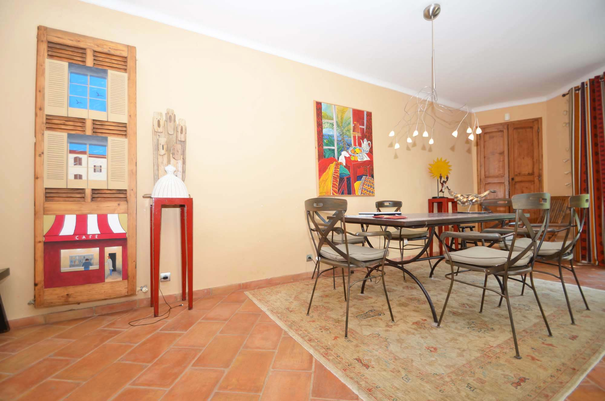 Holiday house with pool in Provence-Côte d\'Azur in Eyragues (France)