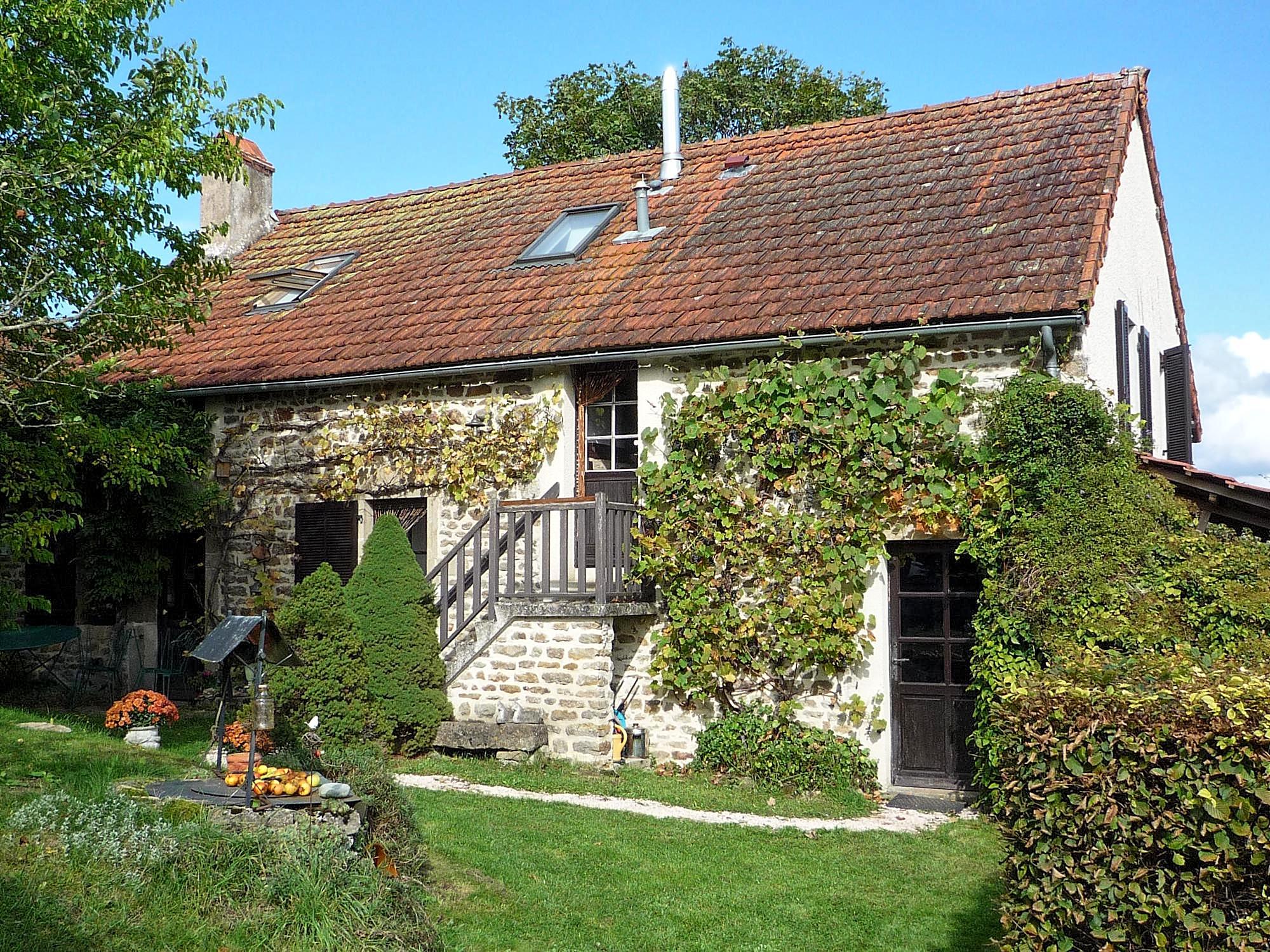 Vakantiehuis in Clomot, in Bourgogne.
