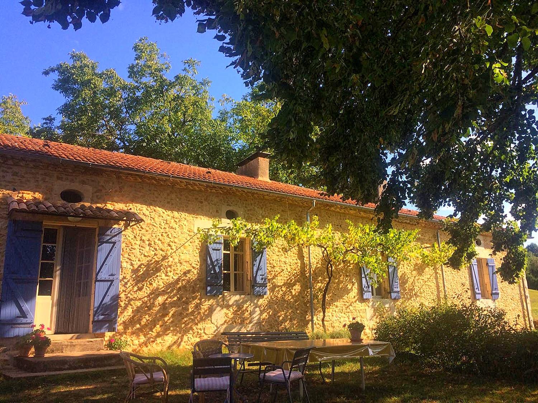 Vakantiehuis in Saint-Amand-de-Vergt, in Dordogne-Limousin.