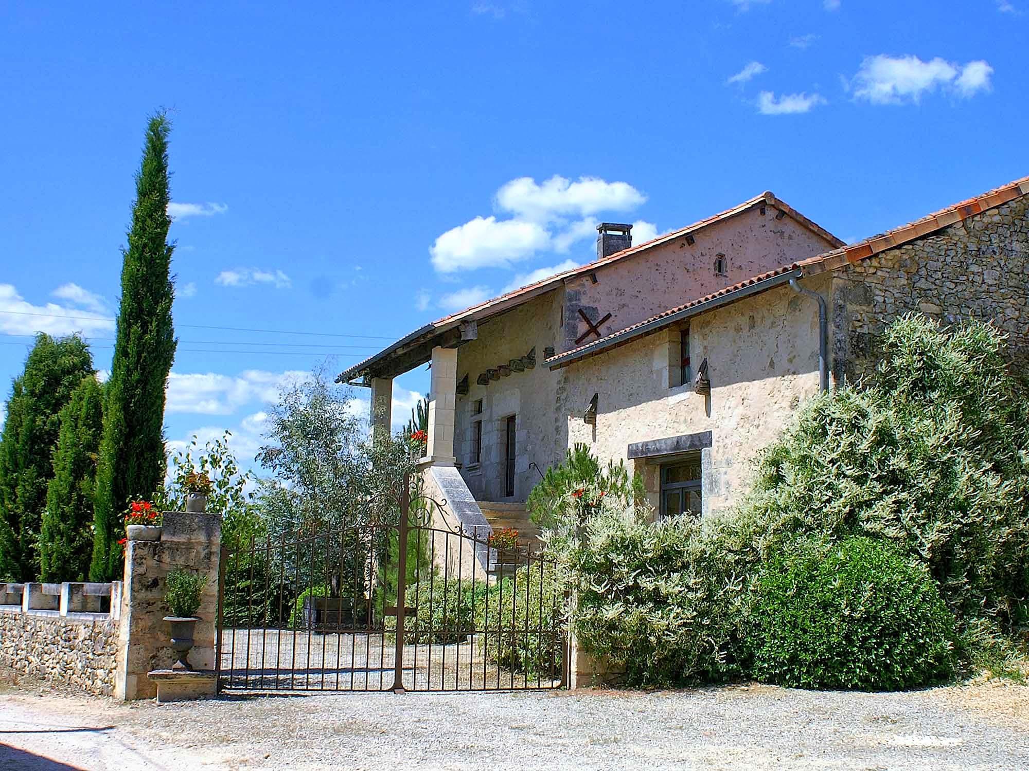 Vakantiehuis in La Chapelle-Faucher met zwembad, in Dordogne-Limousin.