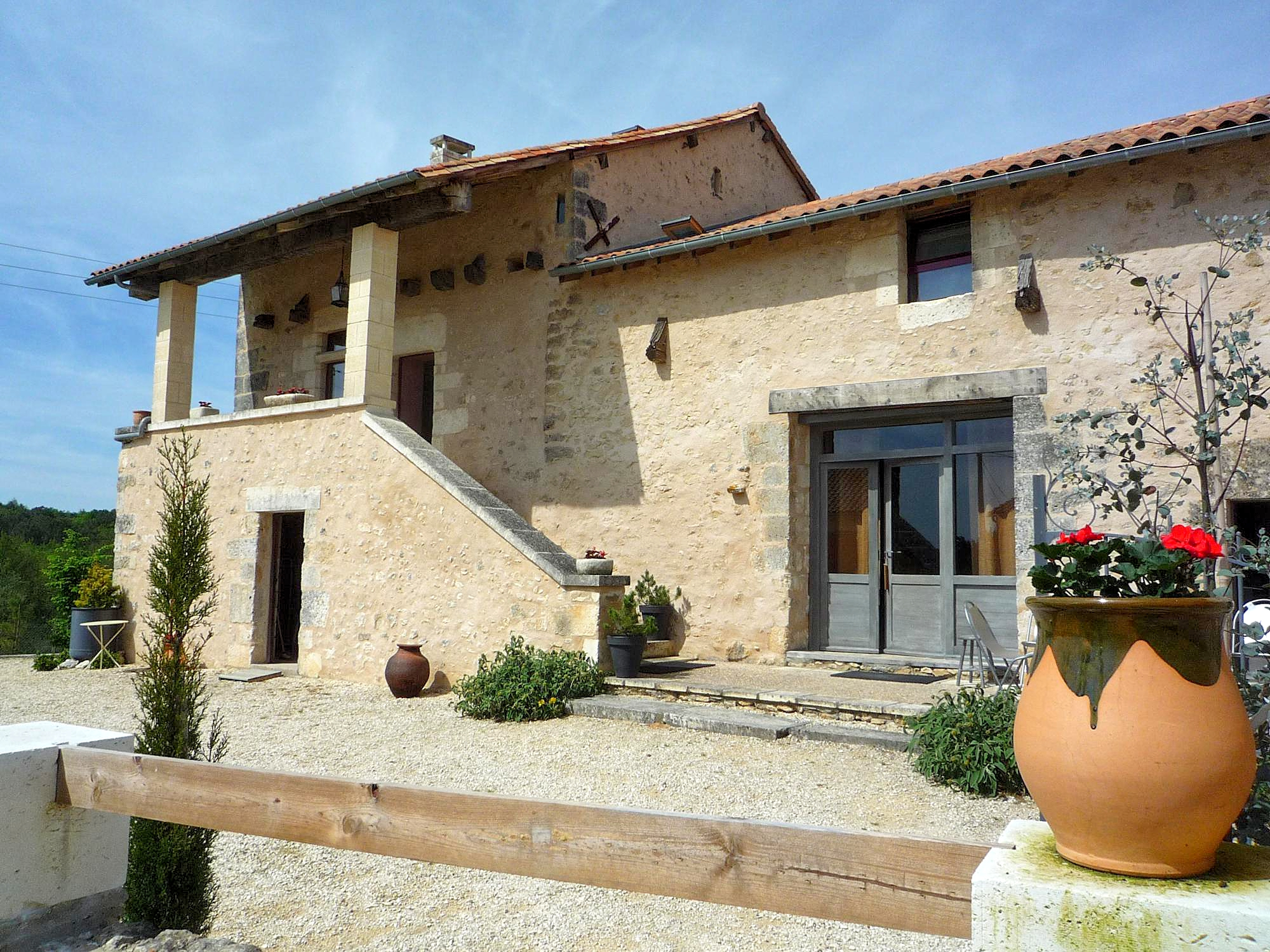 Vakantiehuis in La Chapelle-Faucher met zwembad, in Dordogne-Lim