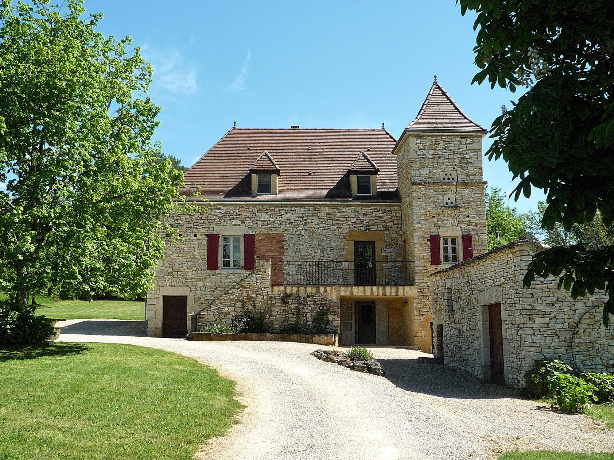 Vakantiehuis in Salviac met zwembad, in Dordogne-Limousin.