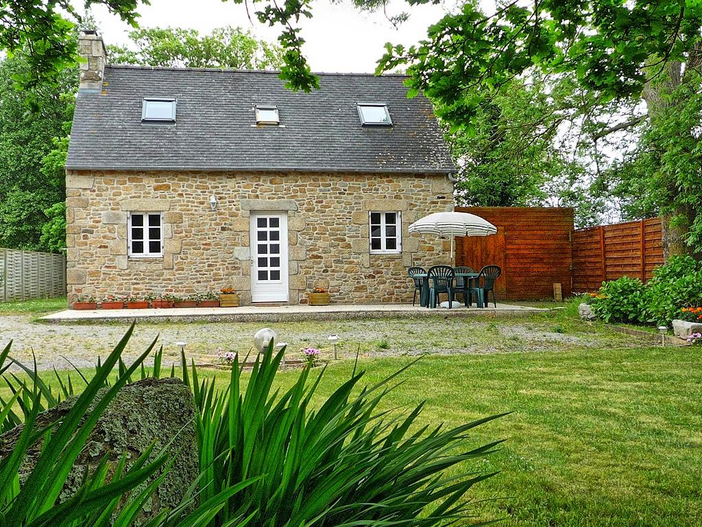 Vakantiehuis in Plouguerneau aan zee, in Bretagne.
