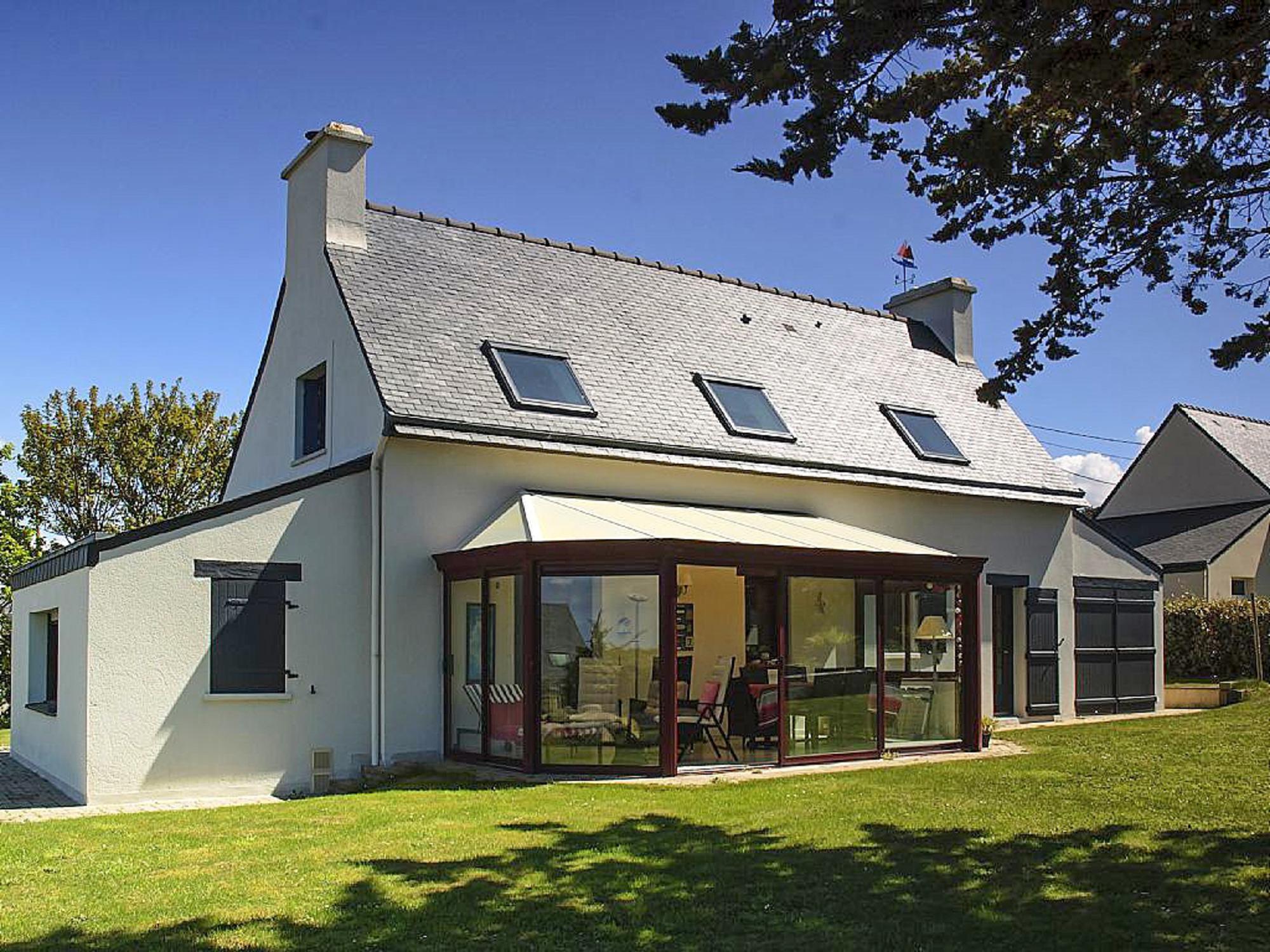 Vakantiehuis in Plouarzel aan zee, in Bretagne.
